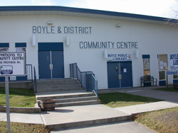 Boyle's upgraded and more energy efficient community centre