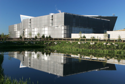 The new Telus World of Science building in Calgary