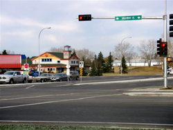 Upgrading an intersection along Highway 15 in Fort Saskatchewan