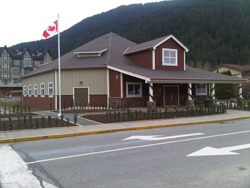 Memorial Hall in Harrison Hot Springs.