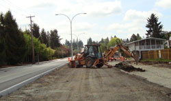 Rehabilitation of 208th Street in Langley