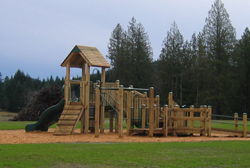 The Meadow Drive Community Park in the Nanaimo Regional District