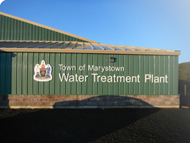 Marystown Water Treatment Plant building
