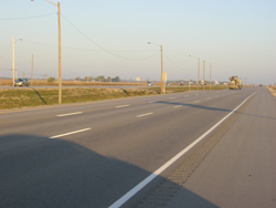 Part of the Trans-Canada Highway, also known in Manitoba as Provincial Trunk Highway 1, has now received an overhaul