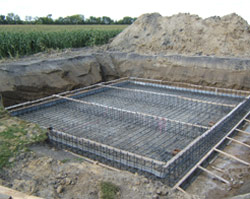 Work is now well under way to enlarge each of the area's three water reservoirs