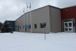 The new multipurpose complex in Grand Manan