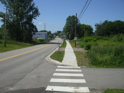 Safe Sidewalk Project results in Annapolis Royal