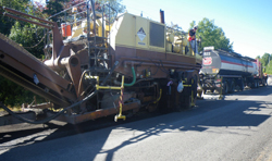 Gravelling and asphalt concrete repaving in Antigonish