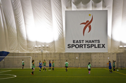 The sportsplex in East Hants