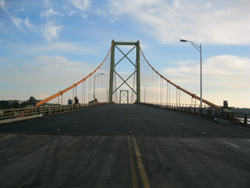 The updated Mackay Bridge in Halifax