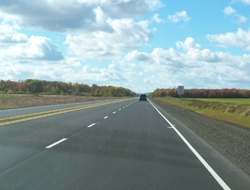 Highway 101 in Kingston, Nova Scotia