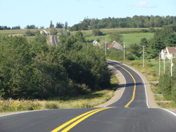 Resurfacing 7.9 kilometres of Route 236 from Princeport to nearby Goss Bridge, both to the west of Truro