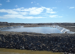 Wastewater facility in Cambridge Bay
