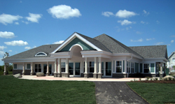 Ajax's Carruthers Marsh Pavilion, a community centre and rest-stop for visitors