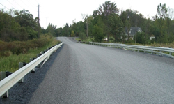 The new bridge along Station Road in Marmora and Lake