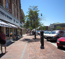 Infrastructure improvements to Collingwood's streetscape in Ontario