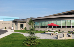 The new library in Fort Frances