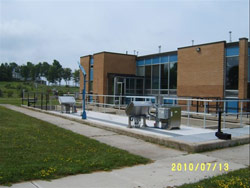Goderich Water Pollution Plant.