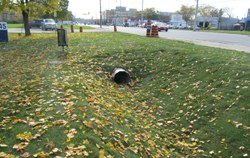 New sanitary sewers in Mississauga