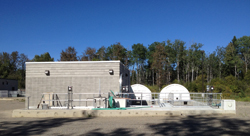 Nipigon's wastewater treatment plant