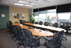 The Board renovated the 7th floor of North Bay's City Hall in North Bay