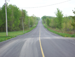 The Finch-Roxborough Boundary Road in the Township of North Stormont