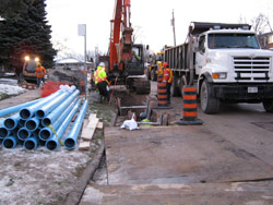 Storm water management in North York
