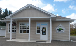 A new municipal building with improved access for persons with disabilities in O'Connor