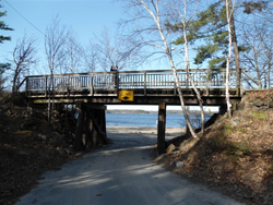 Waubuno Bridge in Parry Sound
