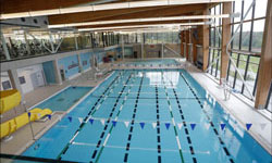 View of pool at the new Oak Ridges Community Centre