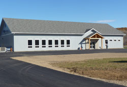 A new multi-purpose facility in the hamlet of Madewaska, in South Algonquin