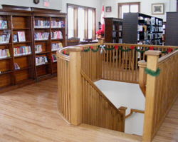 The newly renovated interior of the Carnegie Library in Teeswater