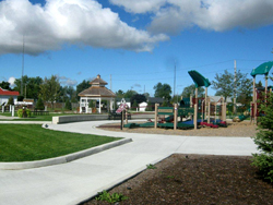 New green space in the Village of Thedford