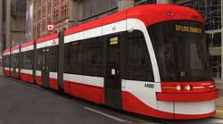 New Toronto Transit Commission streetcar