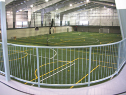 The new sports field house and multi-purpose hall in Woodstock
