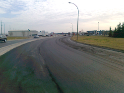 Widening and rehabilitating part of Ross Avenue in Regina