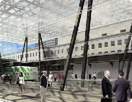 Rendering of Union Station
