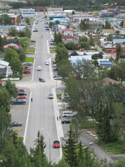 Black Street in Whitehorse