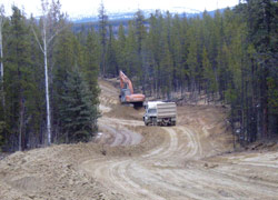 Gentian Lane reconstruction in Whitehorse