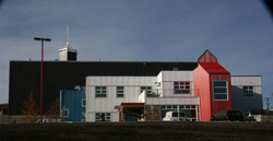 A new, energy-efficient municipal building in Whitehorse