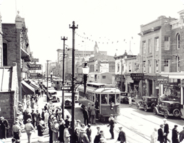 Downtown Calgary in 1930.