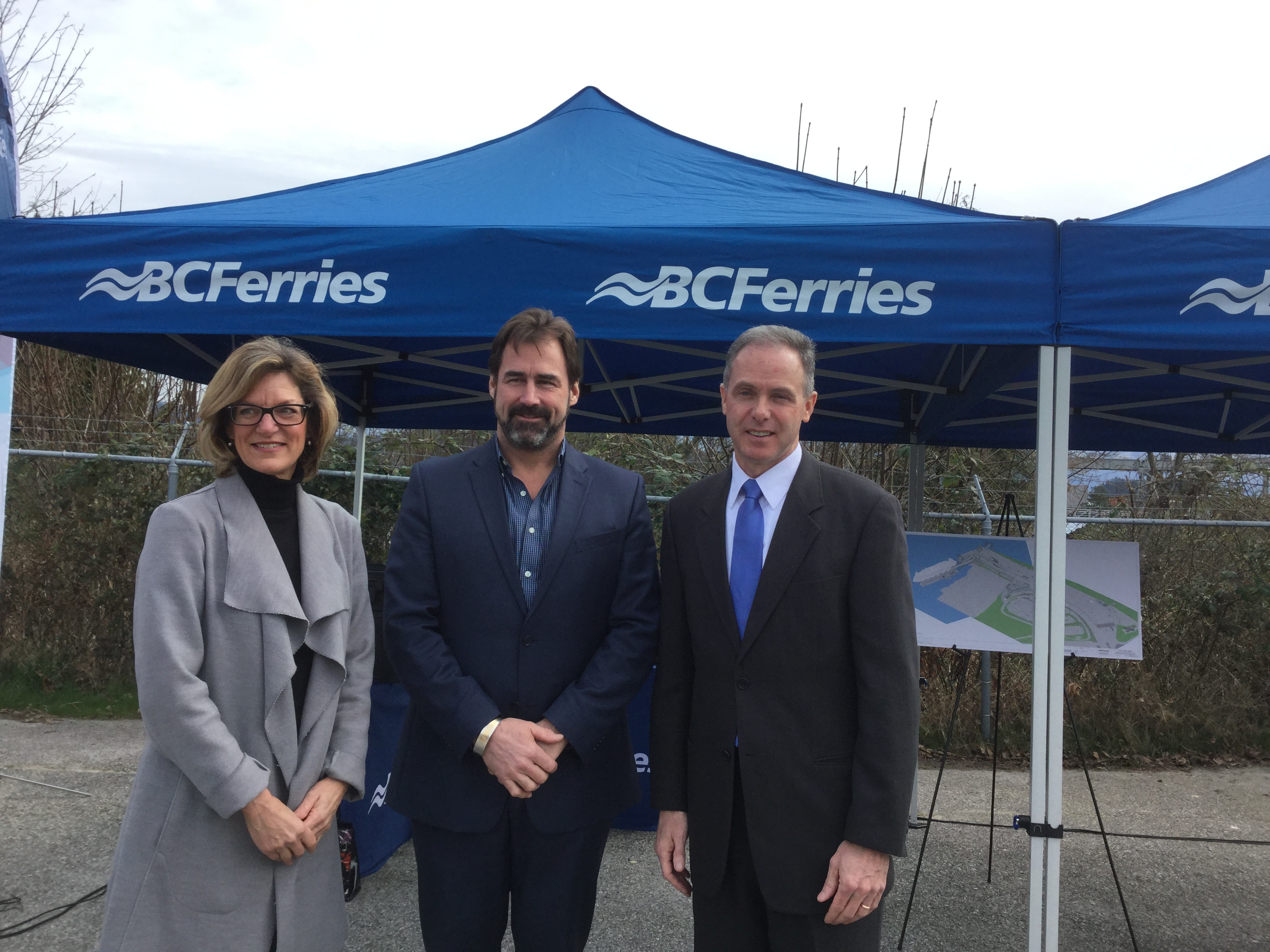 The Government of Canada and BC Ferries invest in British Columbia's ferries transportation network