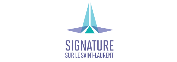 Signature sur le Saint-Laurent