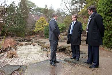Infrastructure canada royal botanical gardens blossoms for Landscaping rocks windsor ontario