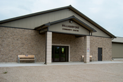 The new community centre in Williamsford