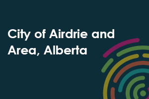 City of Airdrie and Area, Alberta icon