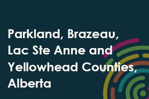 Parkland, Brazeau, Lac Ste Anne and Yellowhead Counties, Alberta icon