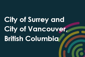 City of Surrey and City of Vancouver, British Columbia icon
