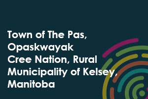 Town of The Pas, Opaskwayak Cree Nation, Rural Municipality of Kelsey, Manitoba icon
