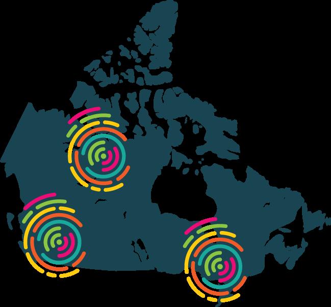 Carte Canada Avec Ville.Infrastructure Canada Defi Des Villes Intelligentes